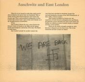 From 'Auschwitz and East London'