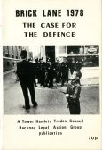 A 1978 pamphlet on racist violence and self-defence in Brick Lane.