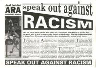 An Anti-Racist Alliance leaflet.