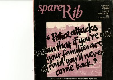 The cover of Spare Rib, issue 110, September 1981.