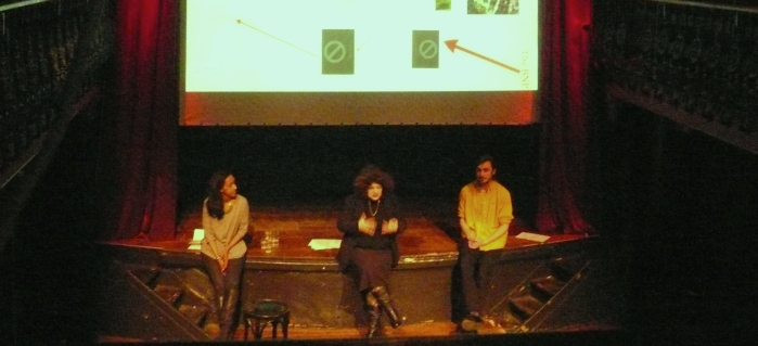 Presenting Half the Battle at Hoxton Hall for Women's History Month 2013